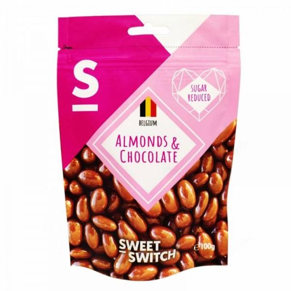Dragees amandes au chocolat au lait 100g - SW