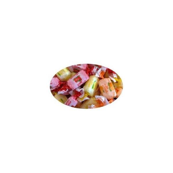 Bonbons Tendres Jus de Fruits Sans Sucre avec Édulcorant