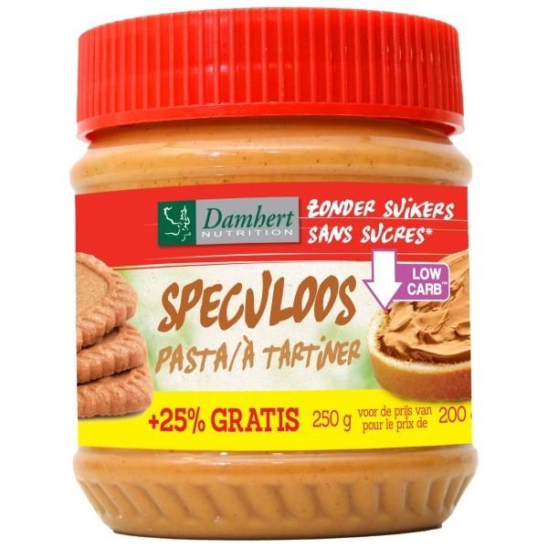 Pâte à tartiner  speculoos sans sucre  ajouté  200g -  D