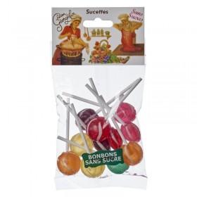 Sucettes sans sucre ajouté pour diabétiques - G